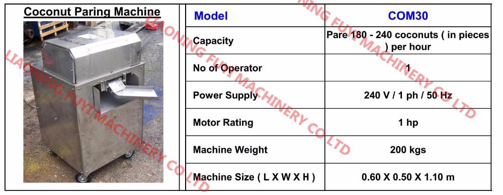 De l 39 huile de noix de coco vierge machine equipements de s paration id de produit 60076708198 - Machine a eplucher les chataignes ...