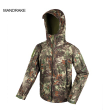 34-0064 Outdoor Hunting Airsoft Shooting Combat Sport Camouflage Tactical Waterproof Jacket
