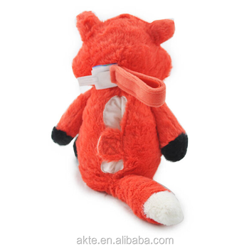Baby Sleeping Fox Stuffed Animal Plush Toy With Sleeping Lullaby Sounds For Kids