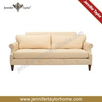 Executive living room sofa designs with big cushions