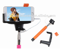 Hot Items Wired Controled Cell Phone Selfie Stick without Battery and Bluetooth