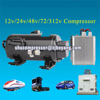 sleeper cab air condition dc compressor for automotive air conditioning electric portable air conditioner for cars 12v