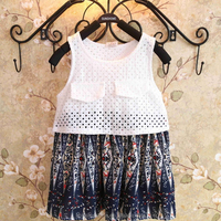 MS64558C summer new design kids boho dress child size chart