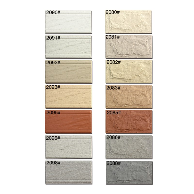 100x200mm good price exterior wall tiles culture stone