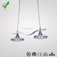 Energy saving Acrylic led hanging lamp HTD-PLC029-2H hot