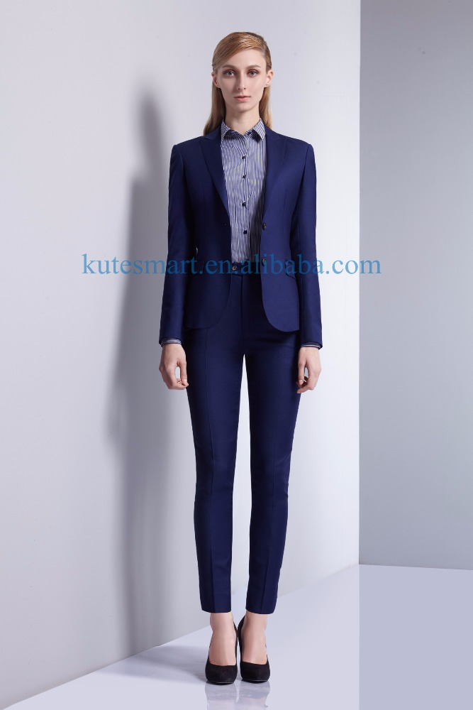 2017 tailor made ladies' suits hand made women suits custom women shirts from redcollar/kutesmart