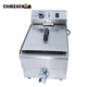 Alibaba Famous products 10L oil capacity restaurant equipment deep fryer electric for fried chicken
