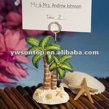 Ocean Breezes Collection Palm Tree place card holder wedding favors