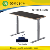 Electric lift mechanism sit/standing office desk & counter force height adjustable mechanisms & promotion and demotion desk