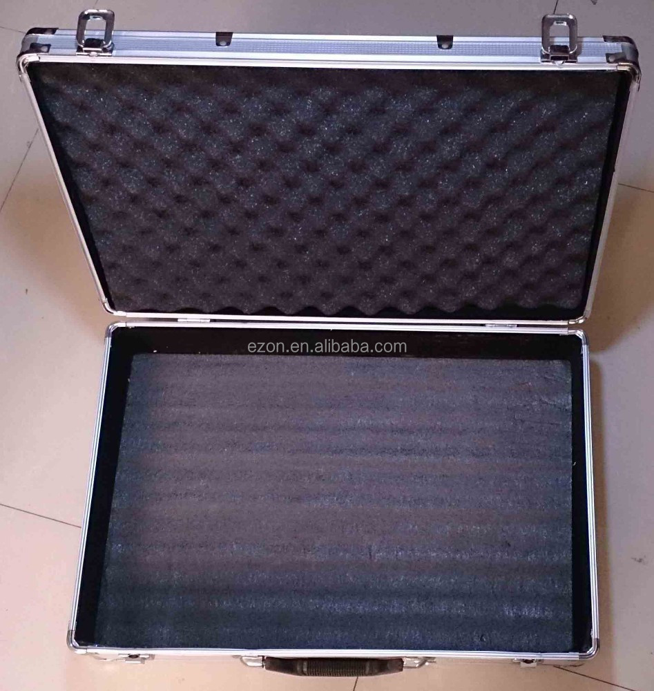 Professional durable aluminum tool case/Aluminum briefcase tool box/Aluminum case for microphone
