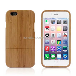 Natural Bamboo case for iphone 6 wooden case bamboo case environmental friendly for iphone6