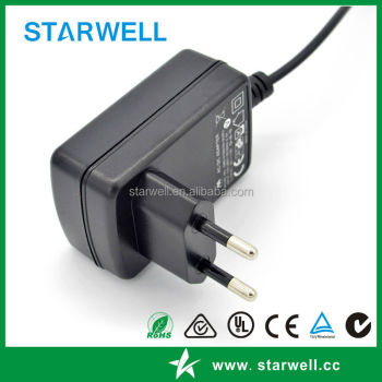 60601 12V 1.5A medical AC adapter with UL CE certificates