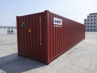 ISO standard oversea 40 foot shipping containers for sale