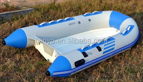 6 Person Pontoon Foldable Inflatable Boat With Separated Chamber rib boat