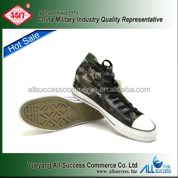 Hot sale camouflage textile upper rubber sole canvas school students casual shoe