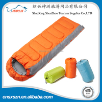 190T polyester waterproof Envelope Style Outdoor Camping Sleeping Bags For Kids