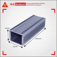 Outdoor electrical panel boxes extruded aluminum profile aluminum enclosure