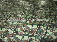 camo tarpaulin fabric 10*10,pe blinds