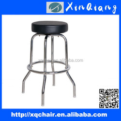 XQ-734B hot sale sponge seat with four iron frame feet bar stools