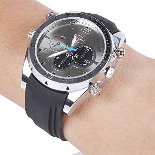 HD 1080P Cameras Watch Paishida Built-in 8GB Waterproof Watch