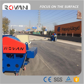 Best Offer Movable Road Shot Blasting Machine/Floor dustless Shot Blaster Made by China