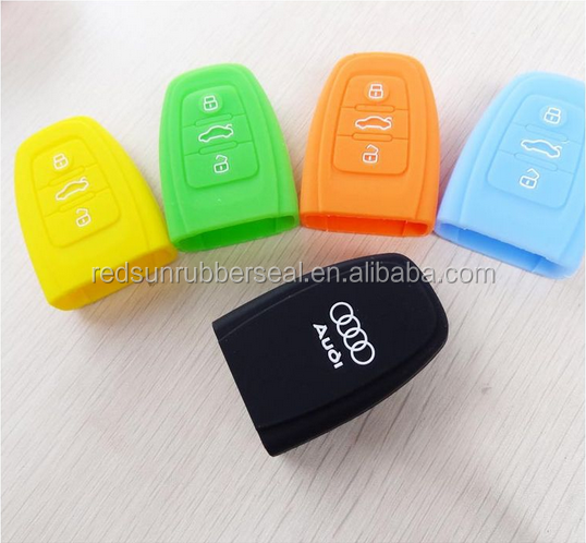 food grade silicone car key cover