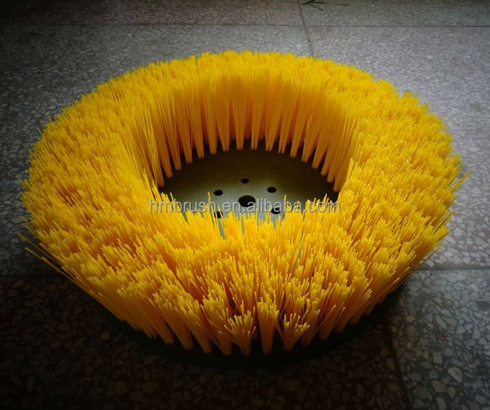 Cleaning Equipment Parts Plastic Sweeper Brush manufacturer factory