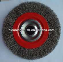 high-quality stainless steel wire wheel polishing brush