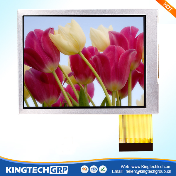 40 pin RGB ips transflective 3.5 inch 640x480 tft lcd display