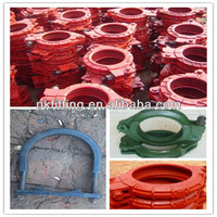 SCHWING concrete pump clamp flexible pipe coupling