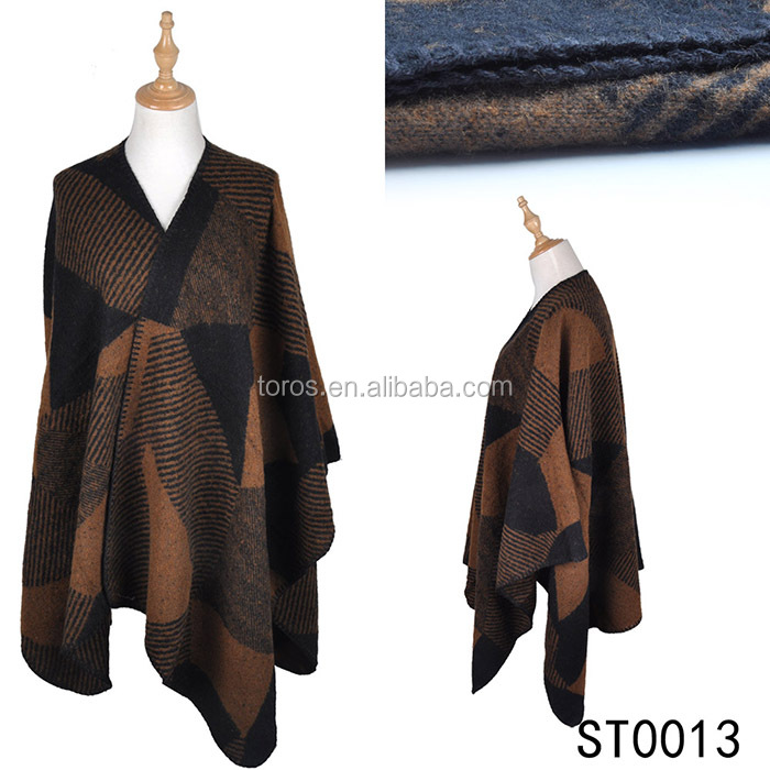 TOROS winter warm Cashmere Pashmina feel 100% acrylic Twill scarf cape