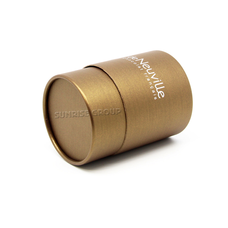 Paper Round Gift Chocolate Packaging Box