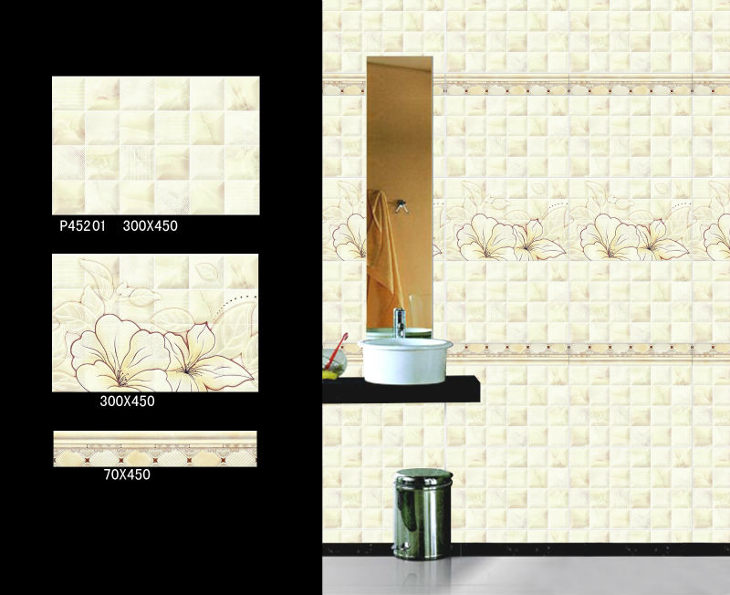 2015 new design bathroom dining room ceramic wall tile