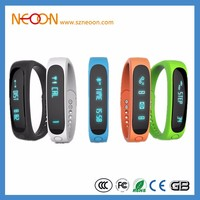 New E02 Smartband Smart bracelet Wristband Fitness tracker Bluetooth 4.0 fitbit flex Watch for ios android better than miband