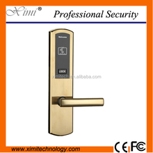 Good Quality Stainless Steel Burglar-Proof Door Electric Lock RFID Card Access Control Hotel Lock