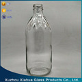 500ml large fruit juice milk glass bottle