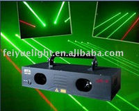 DMX double head Laser rain Effect grenn DJ Disco Light club stage lights