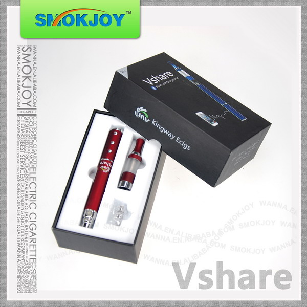 Smokjoy high tech e cig battery V Share with built in bluetooth