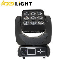 Led Matrix Moving Head Light 9PCS 12 Watt RGBW 4 in 1 stage Light