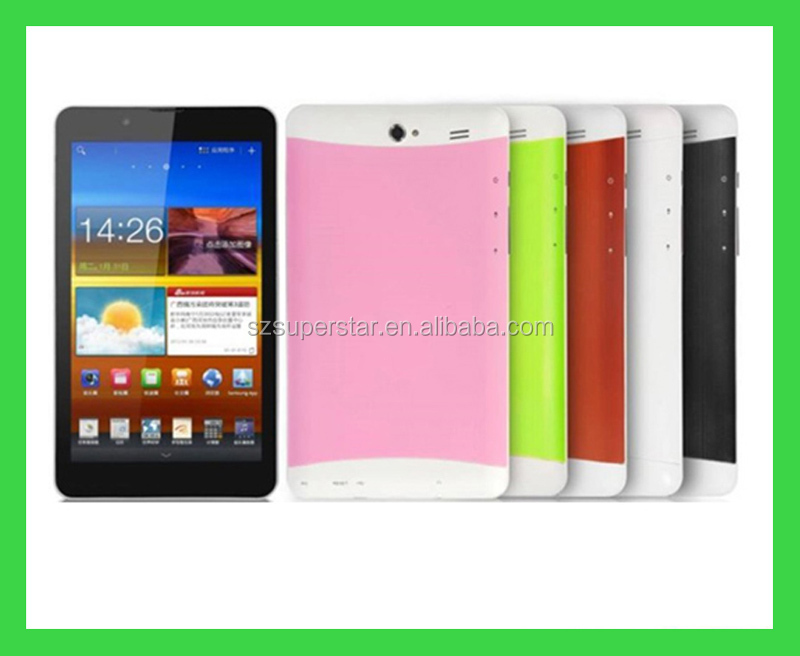 2g phone calling tablet pc MTK6572 dual core 7inch android tablet