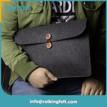 felt polyester waterproof protective customize laptop bag