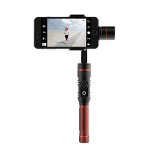 360 degree phantom gimbal 3 Axis Handheld brushless smartphone Gimbal video stabilizer with bluetooth APP