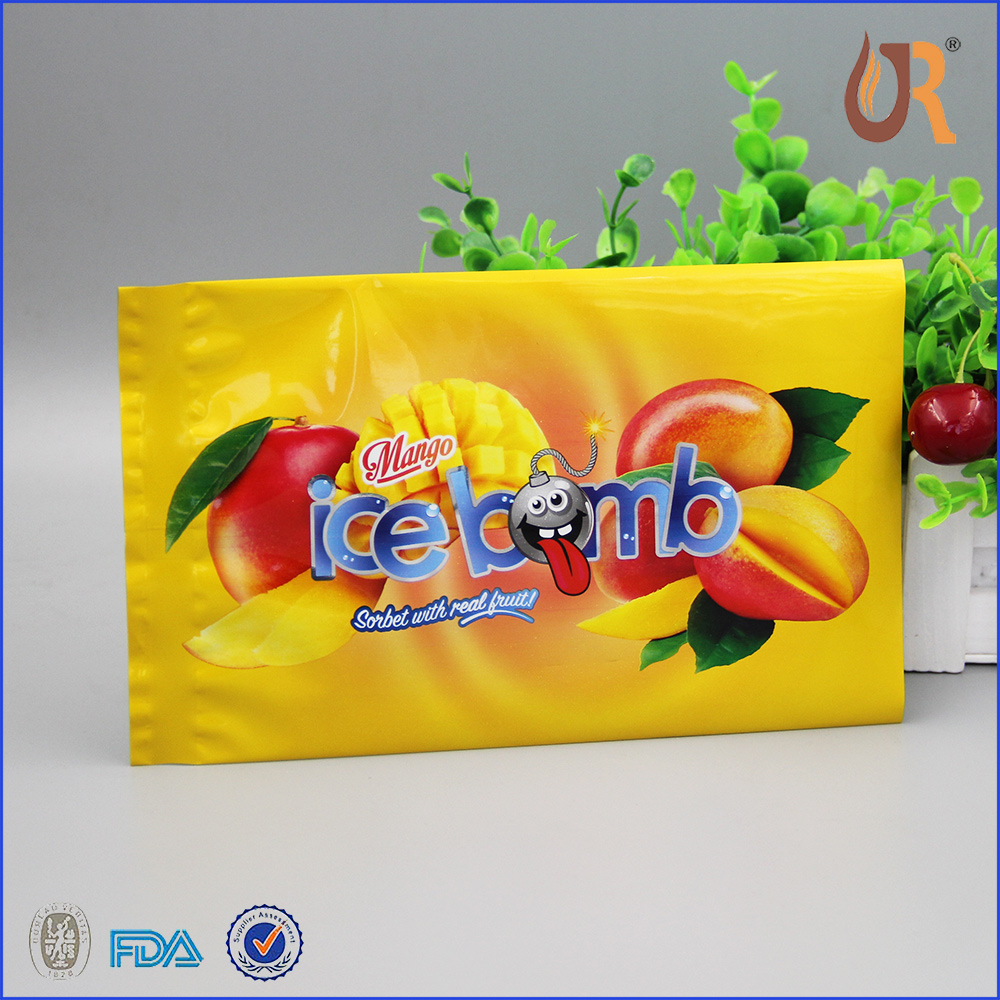 food grade Laminated Material plastic bag popsicle packaging