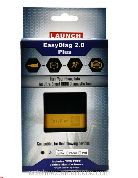 2017 Newest Original Launch X431 easydiag 2.0 & EasyDiag 2.0 Plus code scanner Launch Easy Diag Android ios 2 in 1 in stock