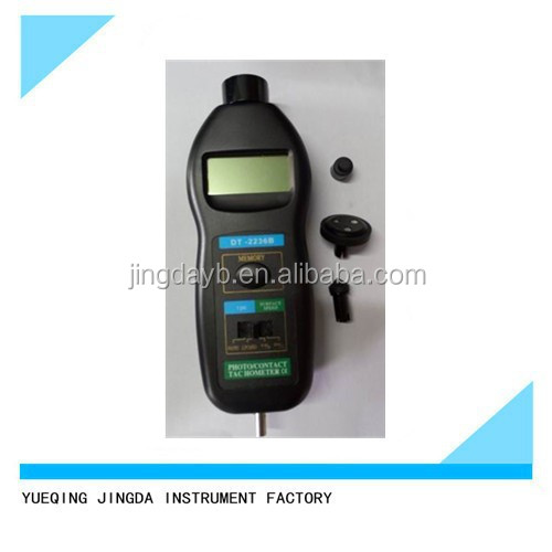 Factory Price Photo /Contact Tachometer DT2236B, laser tachometers,digital rmp tachometer