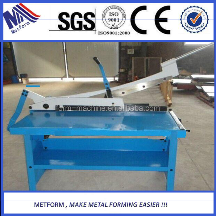manual sheet metal shearing <strong>machine</strong>/thin plate steel shearing <strong>machine</strong>