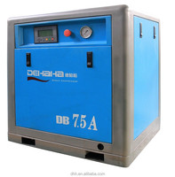 7.5kw 10hp ac power screw type mini air compressor