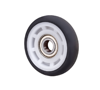 Wheel manufacturer high quality hollow small plastic rail wheels