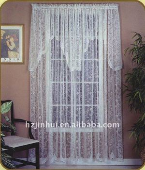 100% polyester jacquard window curtain /curtain panel