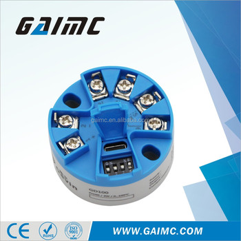 GTM100 Output 4-20ma pt100 temperature transmitter
